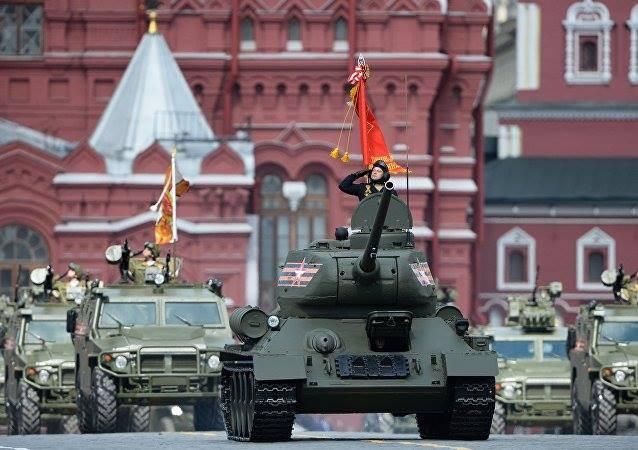 Hùng tráng lễ duyệt binh mừng Ngày Chiến thắng ở Nga - ảnh 30