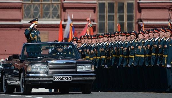 Hùng tráng lễ duyệt binh mừng Ngày Chiến thắng ở Nga - ảnh 19