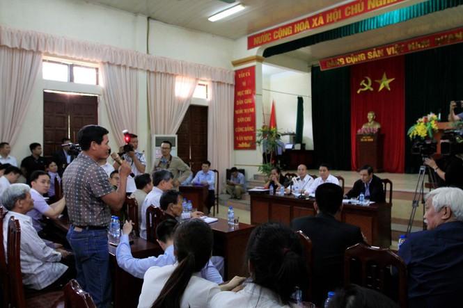 Toàn cảnh cuộc đối thoại giữa Chủ tịch Hà Nội và người dân Đồng Tâm - ảnh 9