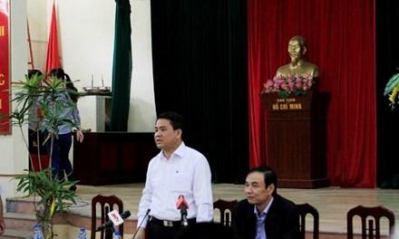 Toàn cảnh cuộc đối thoại giữa Chủ tịch Hà Nội và người dân Đồng Tâm - ảnh 7