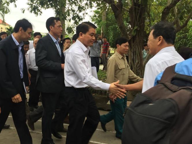 Toàn cảnh cuộc đối thoại giữa Chủ tịch Hà Nội và người dân Đồng Tâm - ảnh 3
