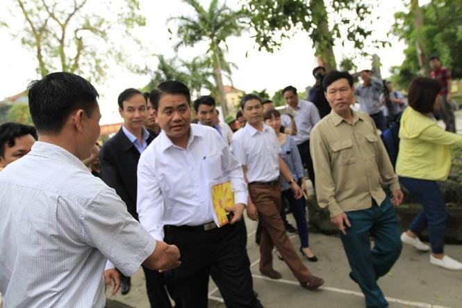 Toàn cảnh cuộc đối thoại giữa Chủ tịch Hà Nội và người dân Đồng Tâm - ảnh 4
