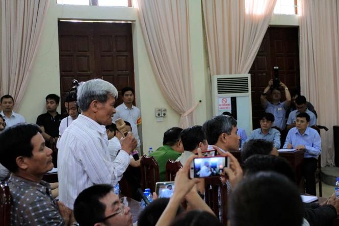 Toàn cảnh cuộc đối thoại giữa Chủ tịch Hà Nội và người dân Đồng Tâm - ảnh 8