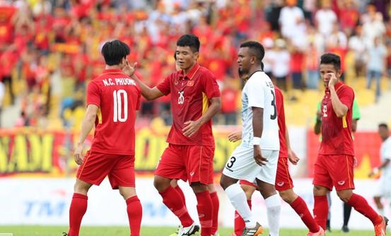 Văn Hậu tỏa sáng, U22 Việt Nam thắng '4 sao' trận đầu SEA Games - ảnh 4