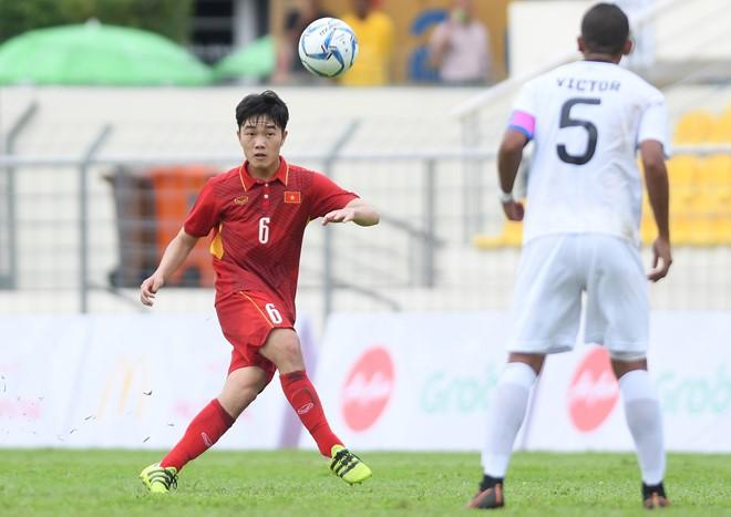 Văn Hậu tỏa sáng, U22 Việt Nam thắng '4 sao' trận đầu SEA Games - ảnh 6