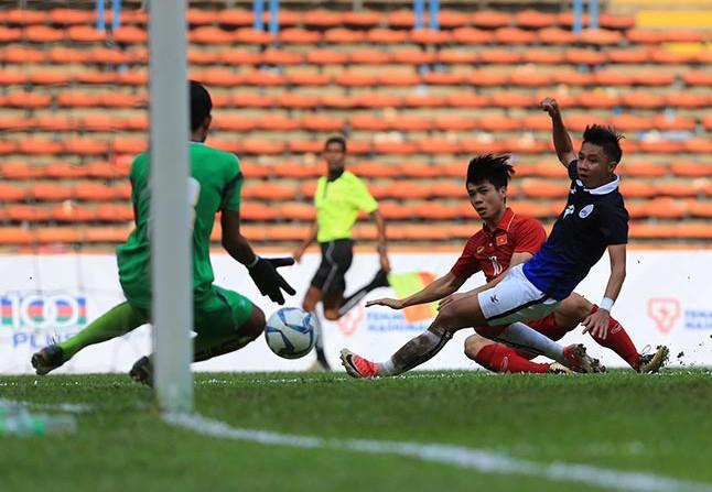 Công Phượng lập cú đúp, U22 Việt Nam đánh bại Campuchia - ảnh 11