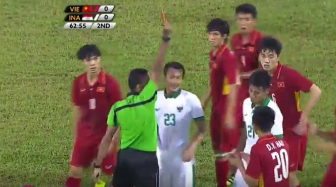 U22 Việt Nam bị Indonesia chia điểm đáng tiếc - ảnh 12