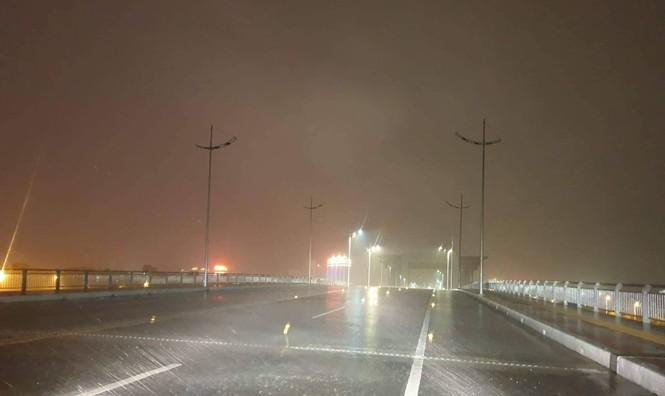 Hình ảnh bão số 3 đổ bộ, Móng Cái cây đổ ngổn ngang - ảnh 1