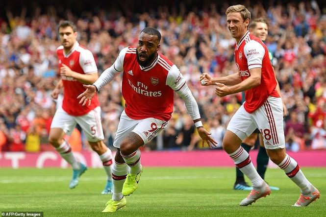 Kết quả vòng 2 Ngoại hạng Anh: Arsenal, Liverpool toàn thắng - ảnh 3