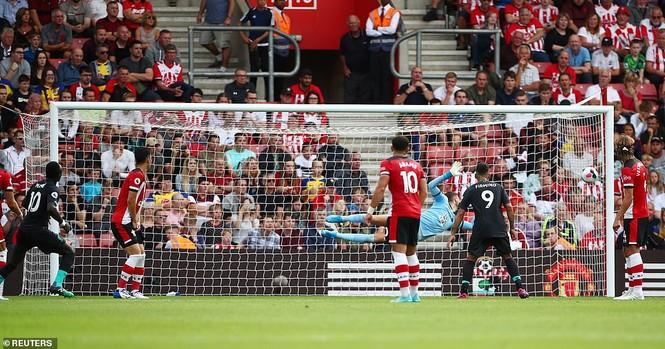 Kết quả vòng 2 Ngoại hạng Anh: Arsenal, Liverpool toàn thắng - ảnh 9
