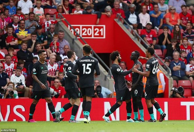 Kết quả vòng 2 Ngoại hạng Anh: Arsenal, Liverpool toàn thắng - ảnh 10