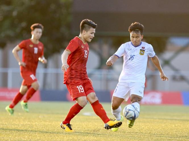 Tiến Linh lập hat-trick, U22 Việt Nam thắng đậm Lào - ảnh 5