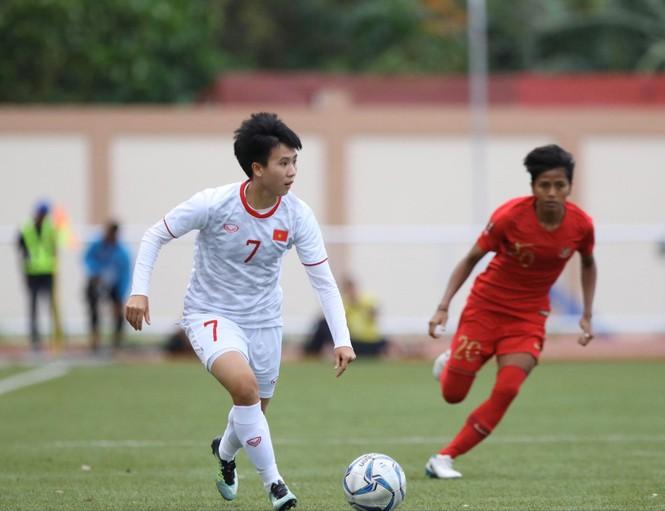 Thắng Indonesia 6-0, tuyển nữ Việt Nam vào bán kết SEA Games 30 - ảnh 3