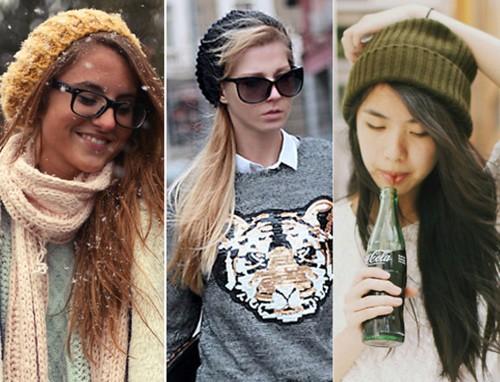 5 kiểu tóc phối hợp cá tính với mũ len beanie - ảnh 3