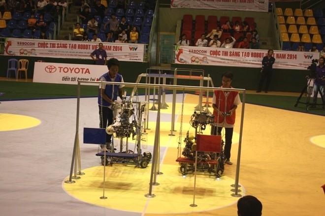 Robocon 2014 và 180 giây quyết định  - ảnh 1