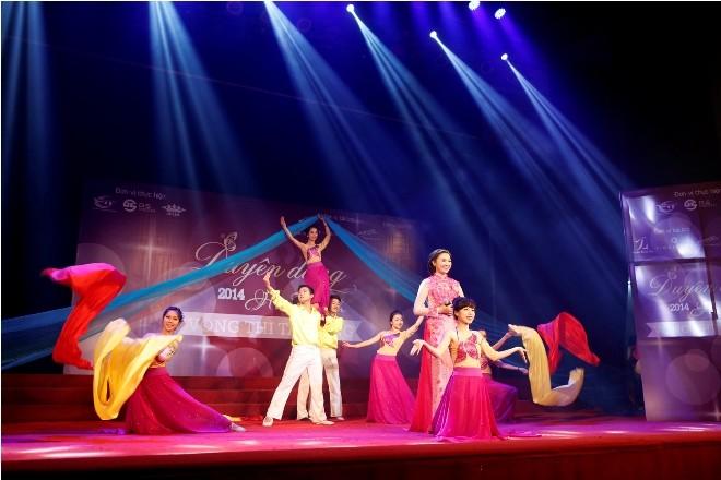 Nữ sinh Hà Thành 'đốt cháy' sân khấu  - ảnh 3