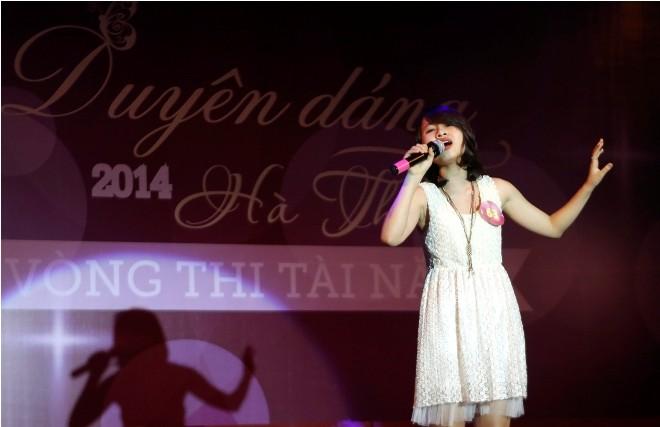 Nữ sinh Hà Thành 'đốt cháy' sân khấu  - ảnh 13