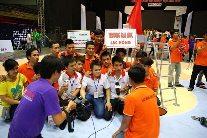 LH-NVN sẽ đại diện Việt Nam tranh tài Robocon Quốc tế  - ảnh 3