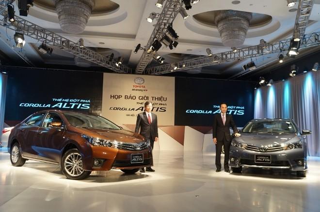 Lộ 3 mức giá của Toyota Corolla Altis 2014 ở Việt Nam - ảnh 1