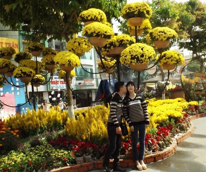 Chen chân chụp ảnh đường hoa Cần Thơ - ảnh 4