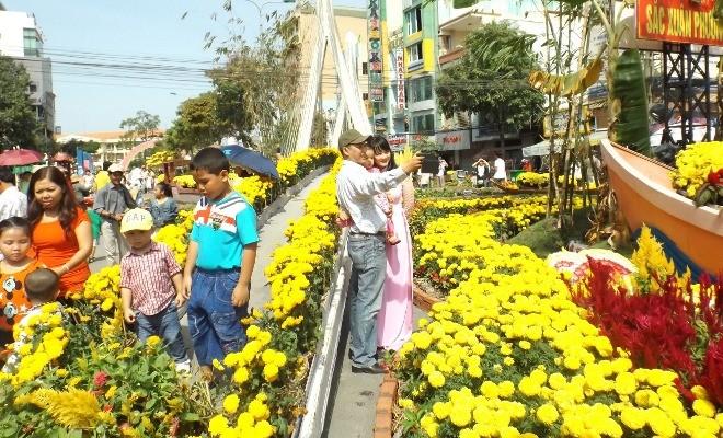 Chen chân chụp ảnh đường hoa Cần Thơ - ảnh 9