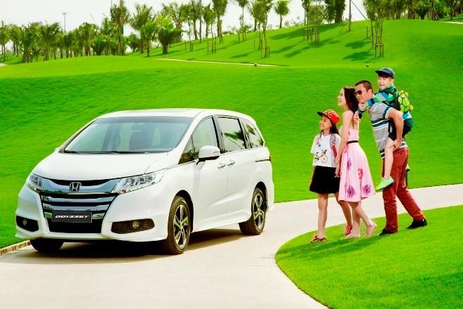 Honda Odyssey và Accord trưng bày tại TPHCM - ảnh 1