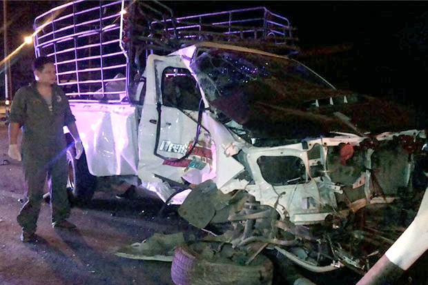 5 vụ tai nạn xe buýt trong 1 tuần ở Thái Lan, 11 người chết - ảnh 1