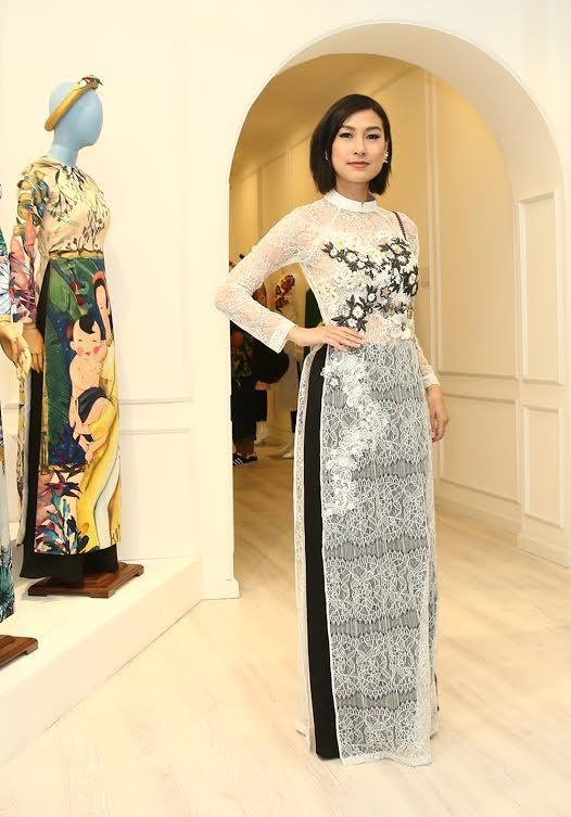 Ca sĩ Hồng Nhung, Đoan Trang diện áo dài đọ dáng cùng mỹ nhân Việt - ảnh 6