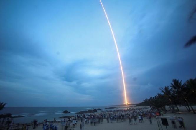 Trung Quốc thử tên lửa hạng nặng Trường Chinh 5 thất bại - ảnh 1
