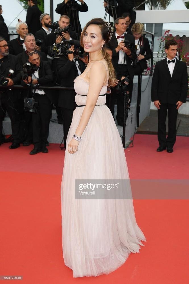 Choáng với gương mặt biến dạng của mỹ nhân gốc Việt Maggie Q ở Cannes - ảnh 7