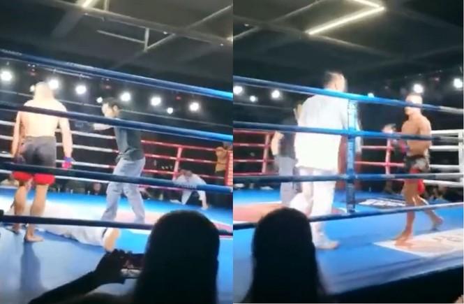 Truyền nhân Thái Cực Võ Đang bị võ sĩ MMA hạ gục sau... 2 giây - ảnh 2