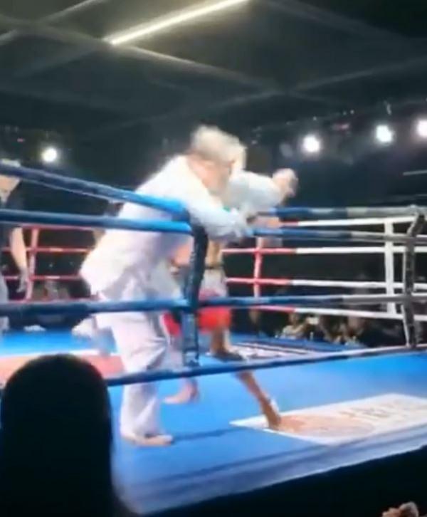 Truyền nhân Thái Cực Võ Đang bị võ sĩ MMA hạ gục sau... 2 giây - ảnh 3
