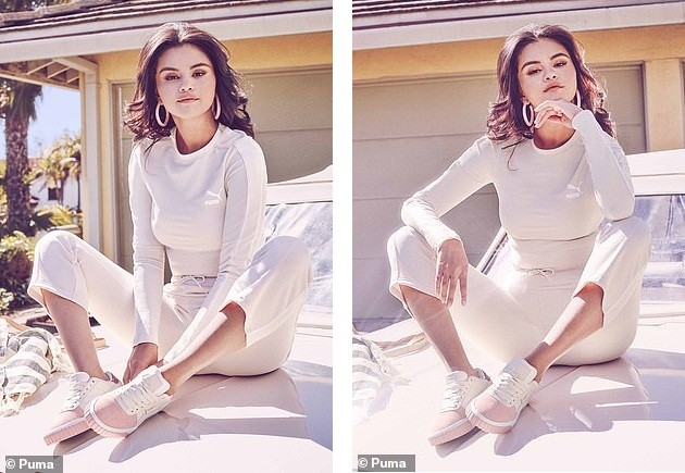 Mặc áo crop-top lộ bụng mỡ, Selena Gomez vẫn nhận 'mưa lời khen' vì quá xinh - ảnh 8
