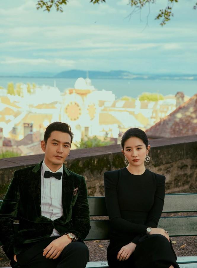'Dương Quá' Huỳnh Hiểu Minh tái hợp 'cô cô' Lưu Diệc Phi trong bộ ảnh cực chất - ảnh 1