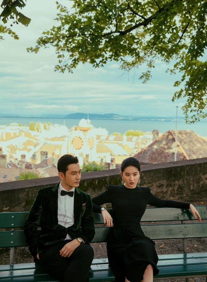 'Dương Quá' Huỳnh Hiểu Minh tái hợp 'cô cô' Lưu Diệc Phi trong bộ ảnh cực chất - ảnh 2