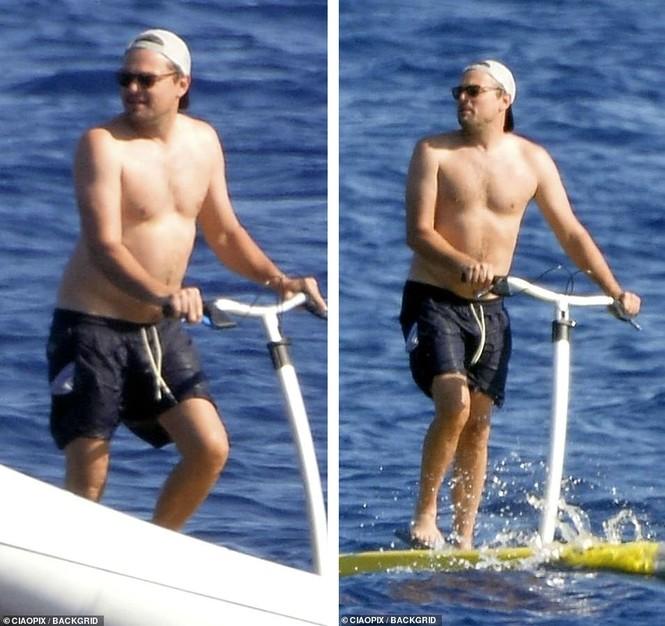 'Ông chú bụng bia' Leonardo DiCaprio nữ tính, bạn gái 9x lướt ván điệu nghệ - ảnh 4