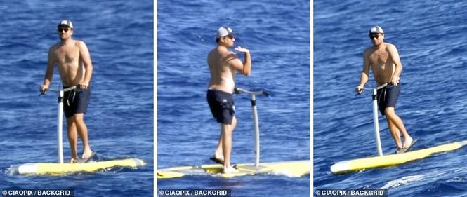 'Ông chú bụng bia' Leonardo DiCaprio nữ tính, bạn gái 9x lướt ván điệu nghệ - ảnh 5