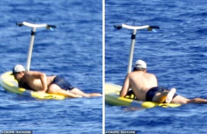'Ông chú bụng bia' Leonardo DiCaprio nữ tính, bạn gái 9x lướt ván điệu nghệ - ảnh 7