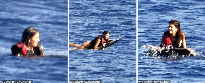 'Ông chú bụng bia' Leonardo DiCaprio nữ tính, bạn gái 9x lướt ván điệu nghệ - ảnh 8