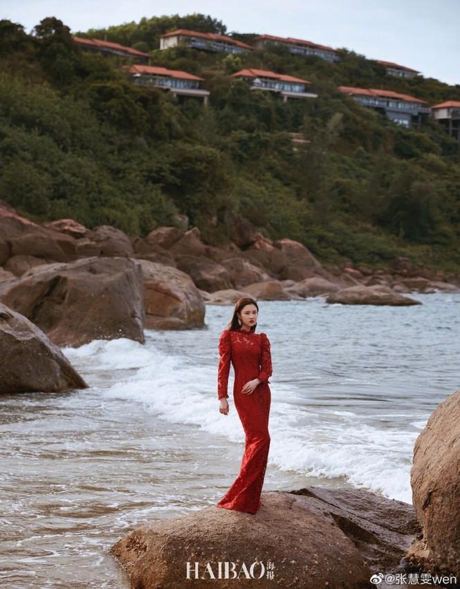 'Nàng thơ' 9x của Trương Nghệ Mưu đẹp ngất ngây ở Hội An, Quảng Bình - ảnh 3