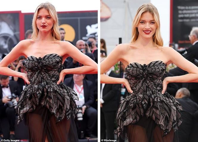 Dàn thiên thần Victoria's Secret diện đầm xuyên thấu, 'hở bạo' trên thảm đỏ - ảnh 6