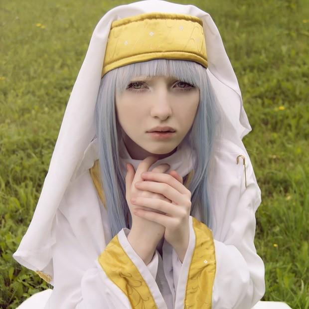 Vẻ thoát tục tựa 'công chúa tuyết' của người mẫu bạch tạng đẹp nhất thế giới - ảnh 5