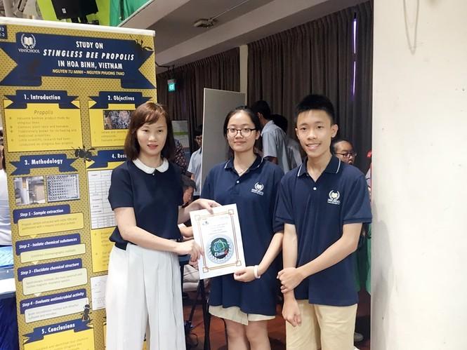 Học sinh Việt Nam 'thắng lớn' tại cuộc thi nghiên cứu khoa học quốc tế - ảnh 3