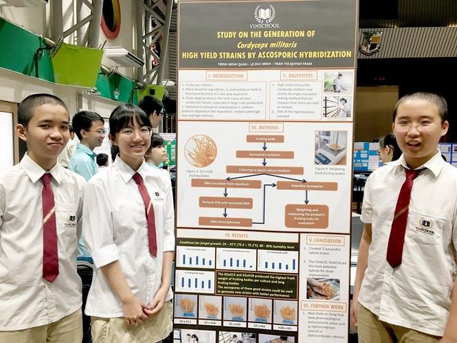 Học sinh Việt Nam 'thắng lớn' tại cuộc thi nghiên cứu khoa học quốc tế - ảnh 5