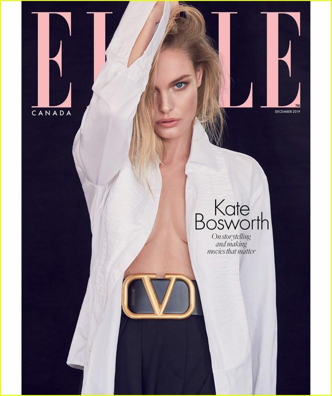 Mỹ nhân Kate Bosworth phanh áo khoe ngực trần trên bìa tạp chí - ảnh 2