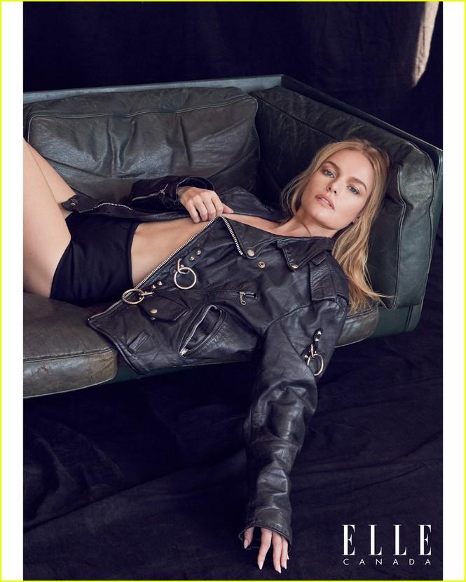 Mỹ nhân Kate Bosworth phanh áo khoe ngực trần trên bìa tạp chí - ảnh 3