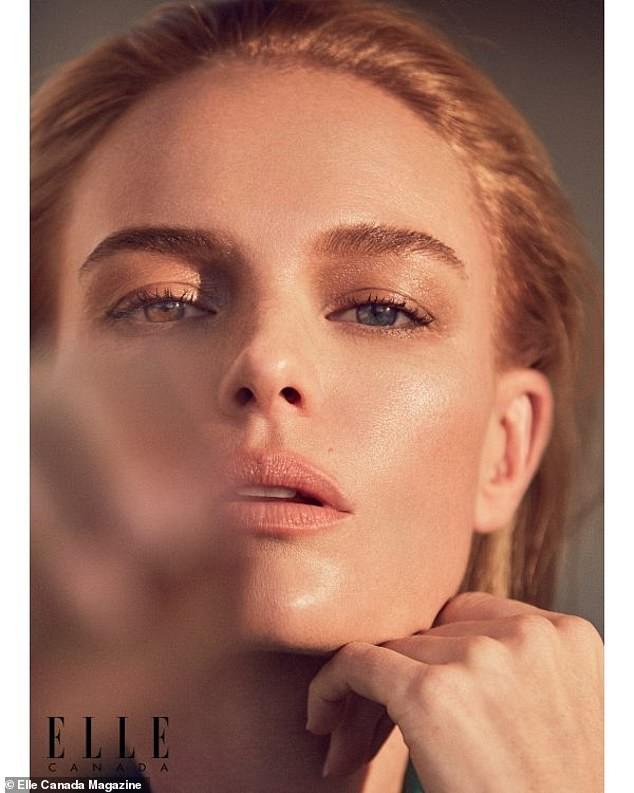 Mỹ nhân Kate Bosworth phanh áo khoe ngực trần trên bìa tạp chí - ảnh 6