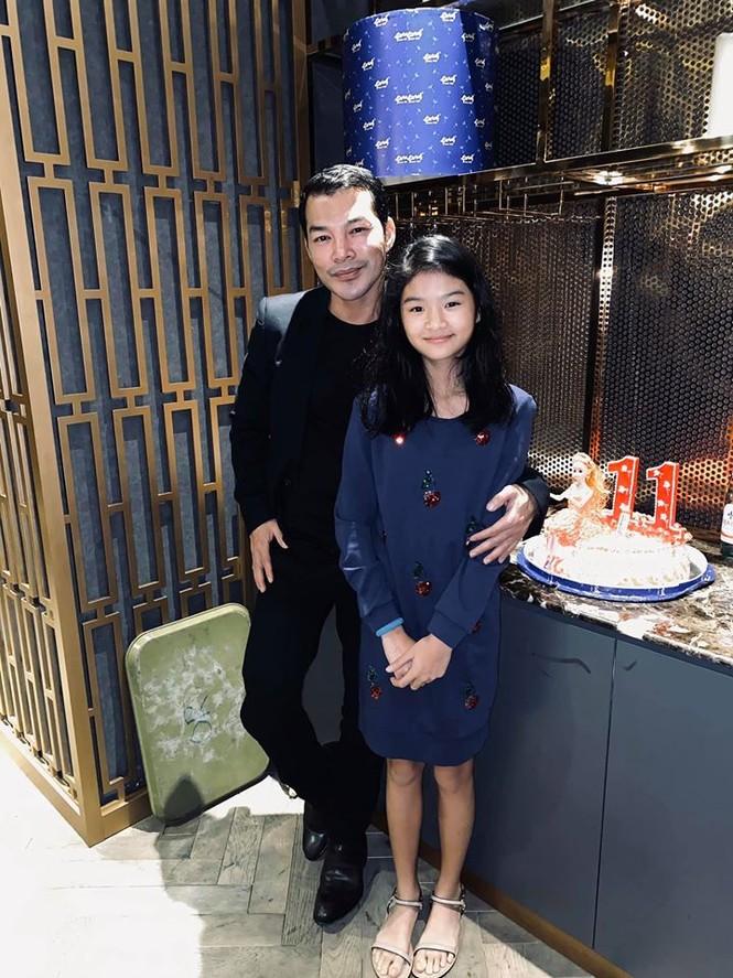 Con gái Trần Bảo Sơn và Trương Ngọc Ánh cao nổi bật, lộ nét hoa hậu ở tuổi 11 - ảnh 1