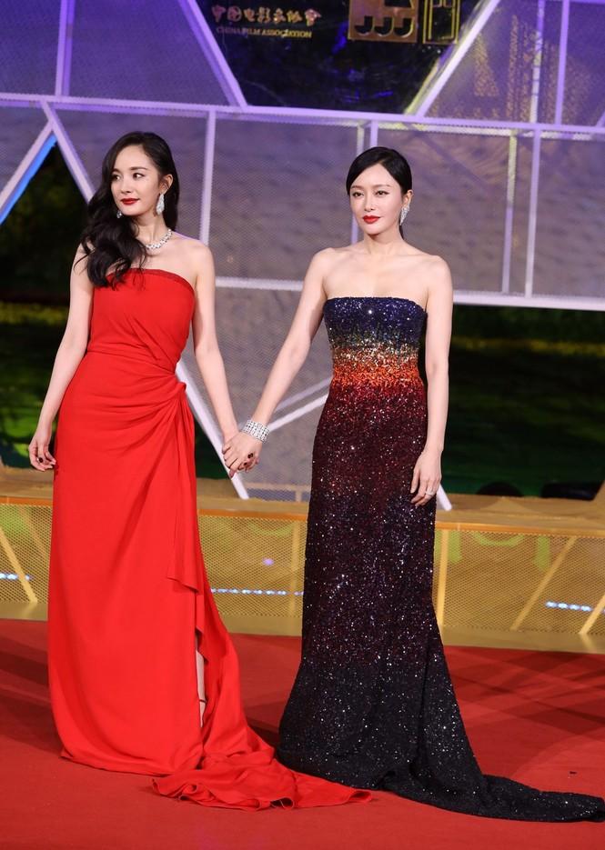 Dàn sao hạng A Hoa ngữ 'đổ bộ' thảm đỏ lễ trao giải Kim Kê 2019 - ảnh 5