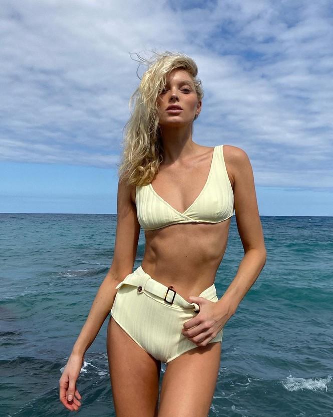 Hoá thân thành Bond girl sexy trên biển, 'thiên thần Thuỵ Điển' bất ngờ bị chê - ảnh 4